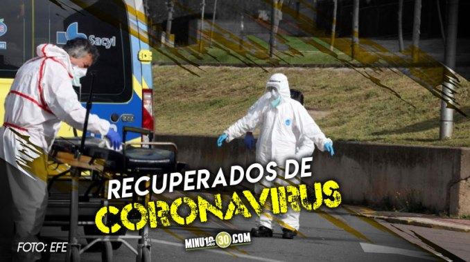 recuperados de coronavirus