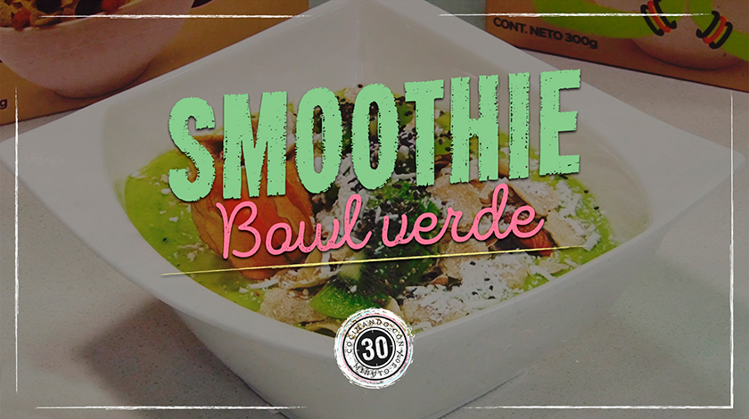 Smoothie Bowl Verde