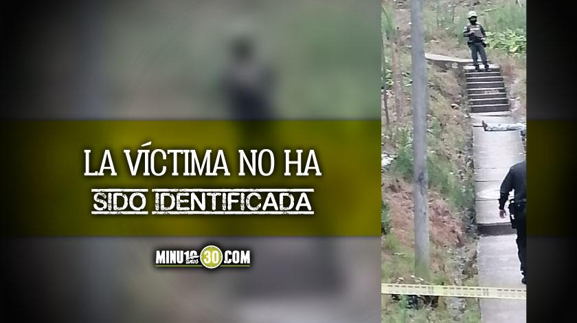 homicidio en la vereda los gomez del municipio de itagui