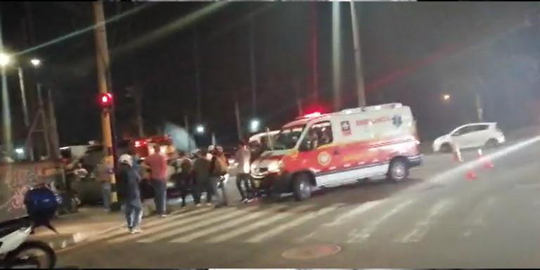 Accidente de tránsito en Sabaneta
