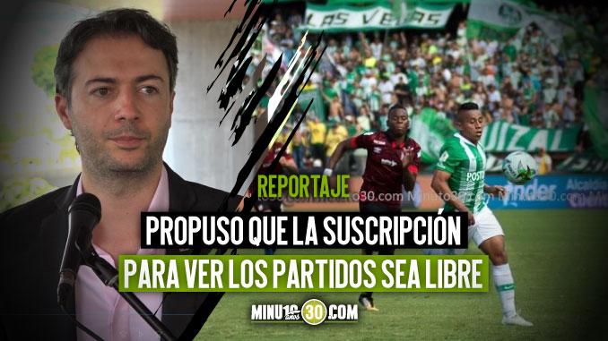 Alcalde de Medellin seria partidario de aplazar partido Nacional Santa Fe
