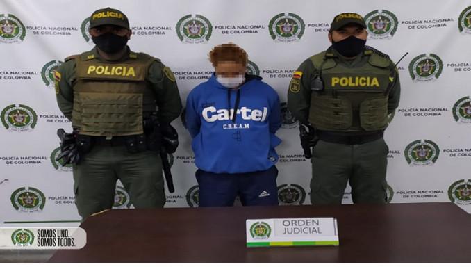 Videos: Por amenazar y desplazar a una familia de venezolanos en Itagüí fue capturado un hombre