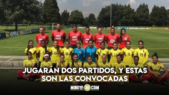 Con cuatro jugadoras del DIM Seleccion Colombia Femenina viaja a Estados Unidos a jugar amistosos