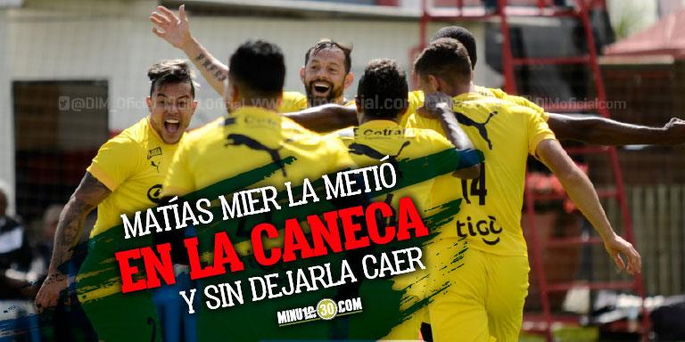 En Independiente Medellin se la gozan en el entrenamiento