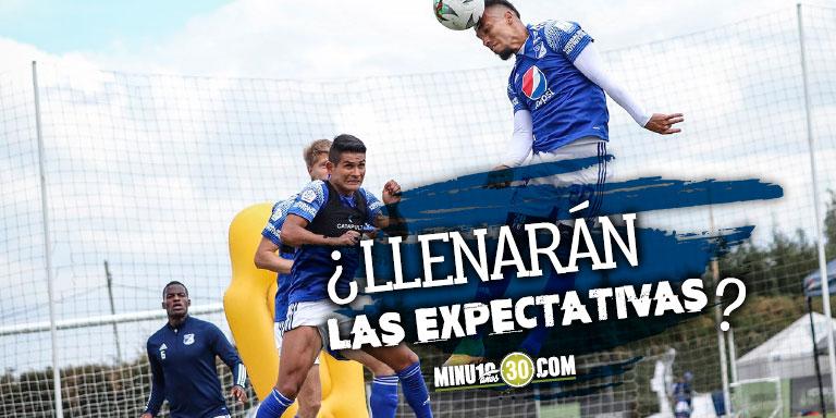 En Millonarios estan encantados con Fernando Uribe y Fredy Guarin