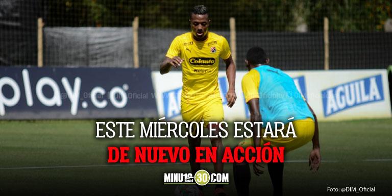 Independiente Medellin sin tiempo para el descanso prepara partido con Deportes Quindio