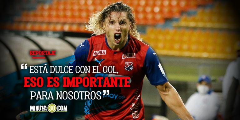 Jugadores de Medellin disfrutan del buen momento de Agustin Vuletich