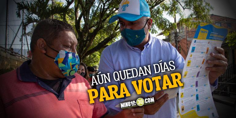 Mas de 120.000 personas han votado por el Presupuesto Participativo en Medellin