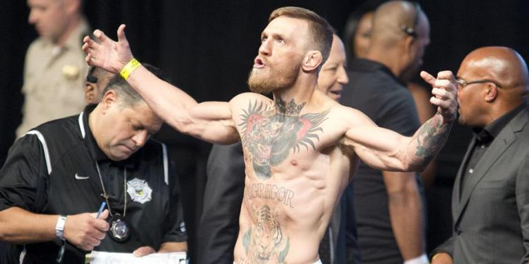 McGregor regreso cuadrilatero