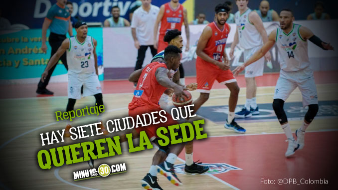 Medellin una de las ciudades que aspira a recibir torneo profesional de baloncesto en 2021