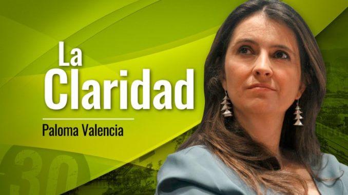 Paloma Valencia La Claridad 678