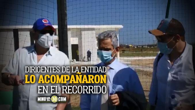 Reinaldo Rueda conocio la sede deportiva de la Federacion Colombiana de Futbol