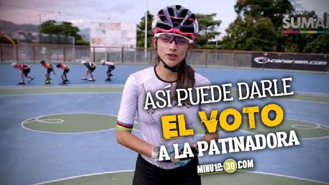 Todos a votar La envigadena que compite para ser la mejor atleta de la historia de los Juegos Mundiales