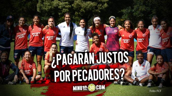 Varias bajas en la Seleccion Colombia Femenina de cuenta de un contagio de Covid 19