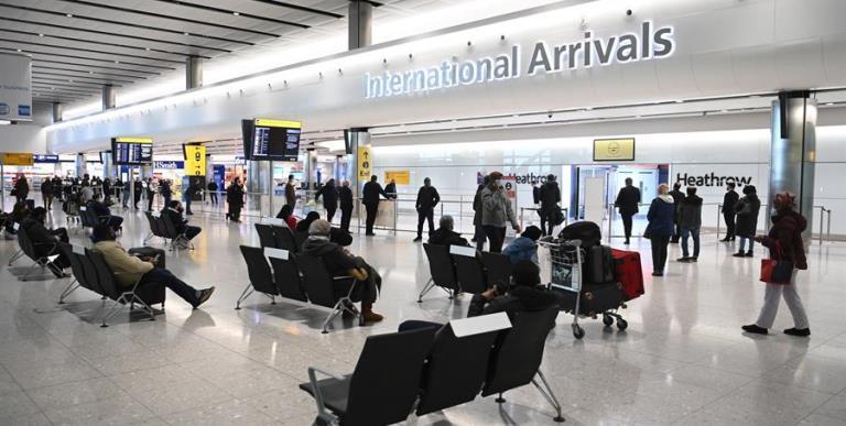 aeropuertos reino unido cierre