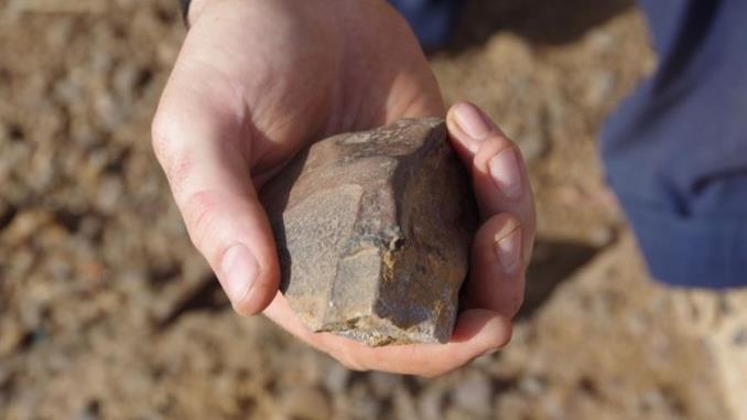 piedra arma cultura humana