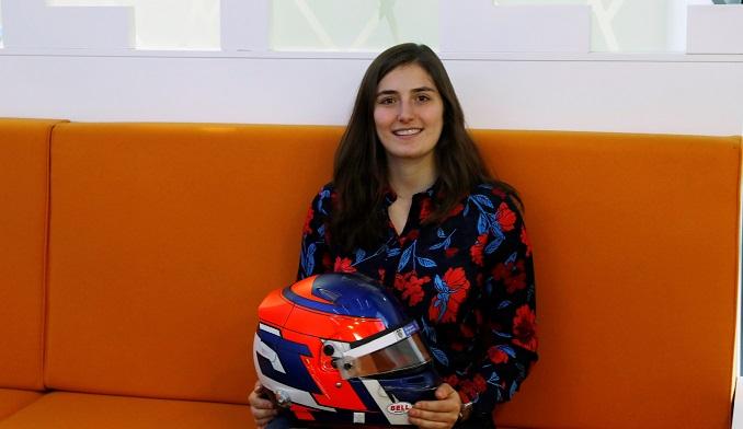 La piloto colombiana Tatiana Calderón disputará por segunda temporada la Super Fórmula