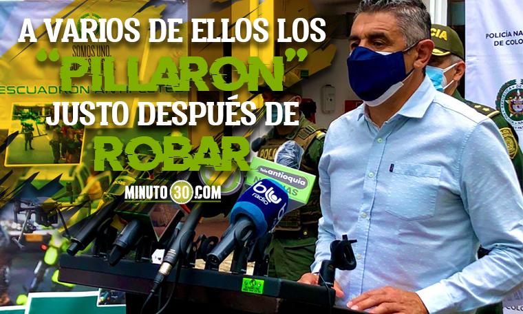 %C2%A1Si da resultados En dos semanas Escuadron Antifleteo ya lleva 20 ladrones capturados en Medellin