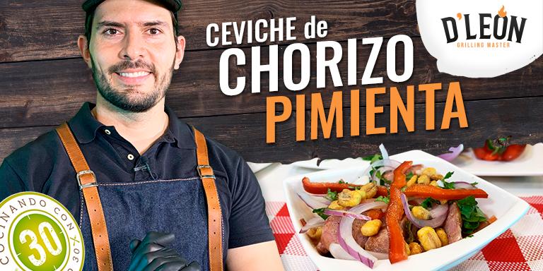 1 D LEON CEVICHE DE CHORIZO PIMIENTA 768
