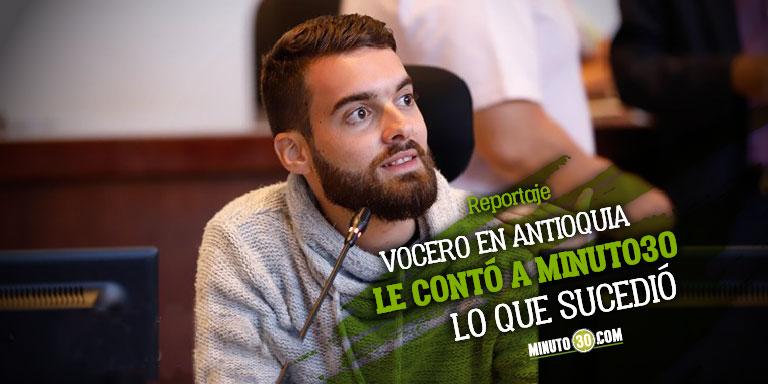A Daniel Duque no lo suspenden por hacer oposicion sino por unas irregularidades encontradas dice vocero del Partido Verde