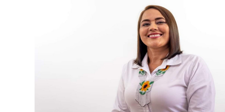Tras la muerte del alcalde de Urrao, su esposa Alexandra Machado Montoya