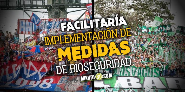 Abonados de Nacional y Medellin serian los primeros en regresar al Atanasio Girardot