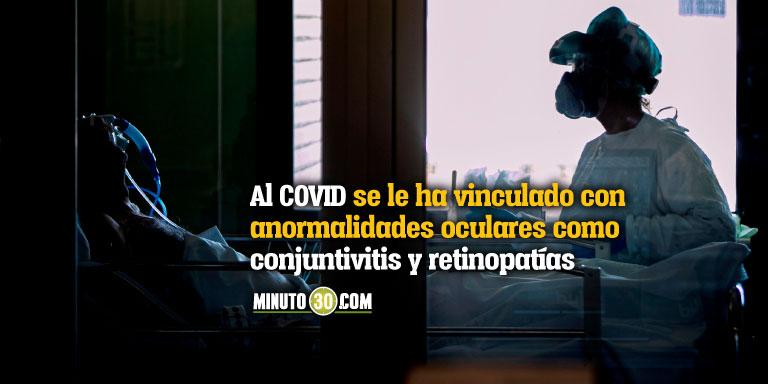 Encuentran anomalías oculares en algunos casos graves de la covid-19