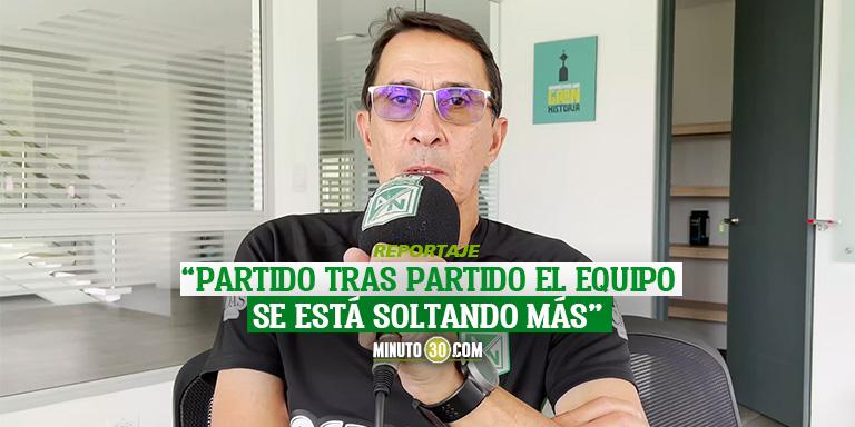 Alexandre Guimaraes motivado y listo para partido con Bucaramanga