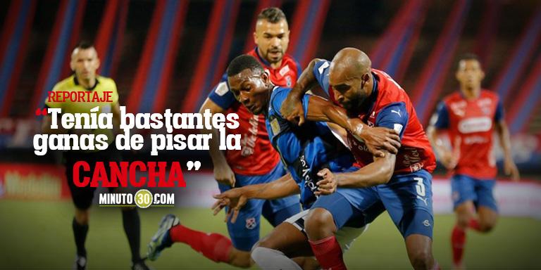 Alexis Rolin hizo un balance de su debut con Independiente Medellin 2