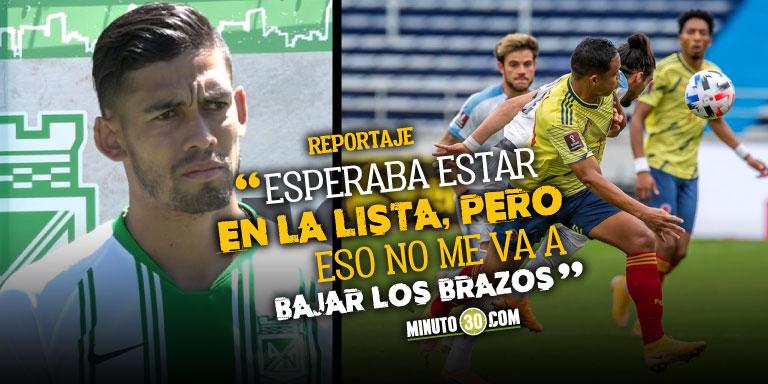 Andres Andrade no se dara por vencido en su intencion de llegar a la Seleccion Colombia 1