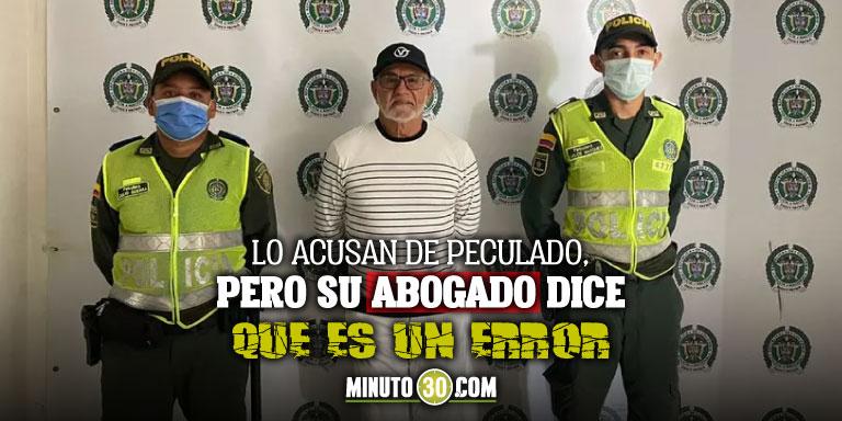 Capturan en Barranquilla al exalcalde de esa ciudad Bernardo el Cura Hoyos