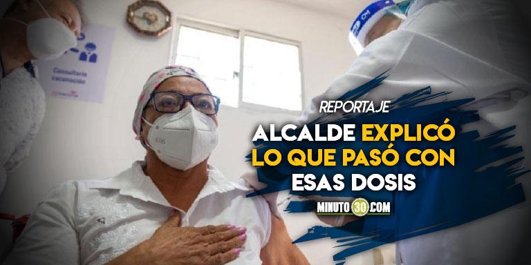 De las casi 4.600 vacunas que llegaron a Medellin solo se perdieron tres y no fue por hechos de corrupcion
