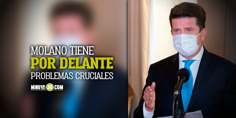 Los retos de Diego Molano al frente de la cartera de Defensa