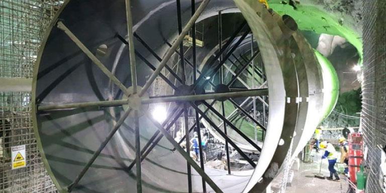 EPM dio trascendental paso que permitira instalar unidad de generacion de energia en Hidroituango