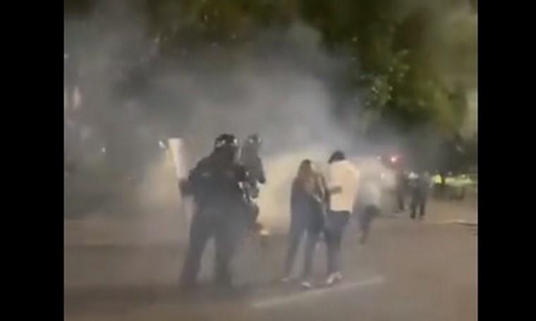 ESMAD en protestas de gastrobares