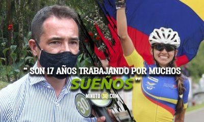 Entrenador Ivan Vargas celebra como propios los logros de Fabriana Arias 1