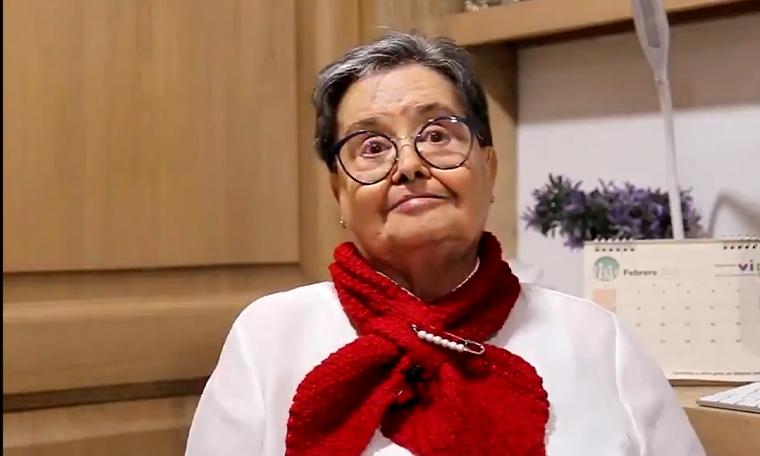 Es fascinante vacunarse una tranquilidad unica la experiencia de una adulta mayor en Medellin