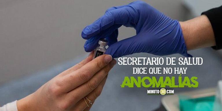 Estan metiendo a familiares Investigan posibles colados para la vacunacion en Bogota