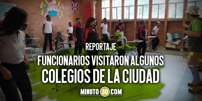 Estan todas las condiciones Personeria reconoce que Medellin se preparo bien para la alternancia educativa