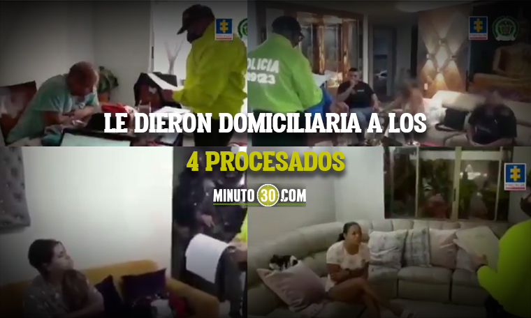 FISCALIA JUDICIALIZO A 4 PRESUNTOS INTEGRANTES DE UNA RED DE LAVADO DE ACTIVOS QUE ESTARIA