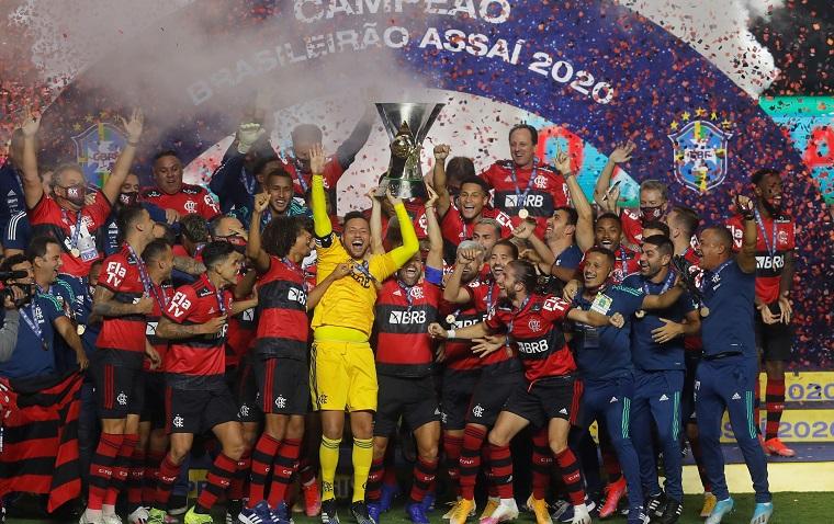 Flamengo levanta su octavo titulo 2