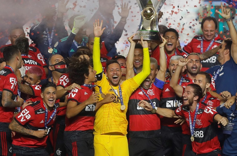 Flamengo levanta su octavo titulo 3