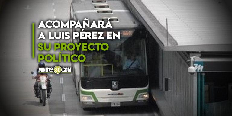 Gerente de Metroplus renuncio a su cargo para seguir con sus proyectos personales