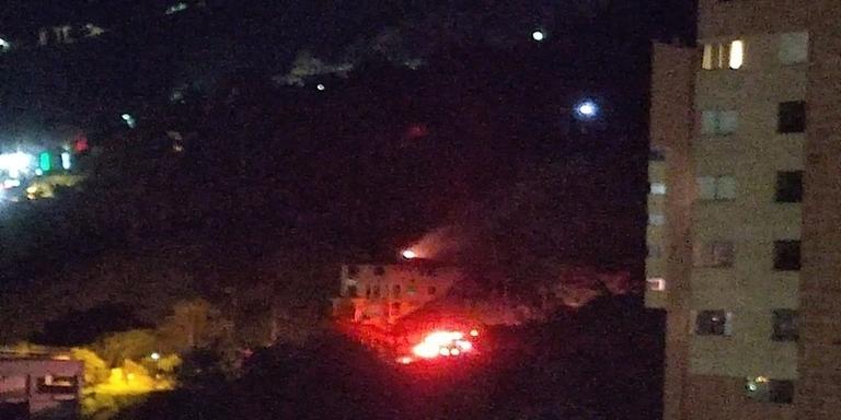 Incendio vereda Las Lomitas Sabaneta 1
