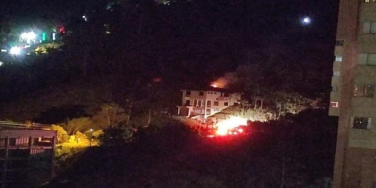Incendio-vereda Las Lomitas-Sabaneta