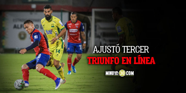 Independiente Medellin sigue en racha