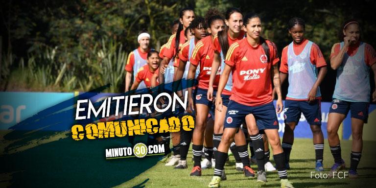 Jugadoras de la Seleccion Colombia lamentaron decisiones de Dimayor respecto a la Liga Femenina
