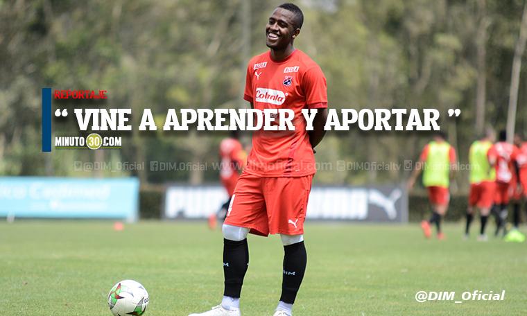 Kevin Londono seria la principal novedad en Independiente Medellin para enfrentar al Cali