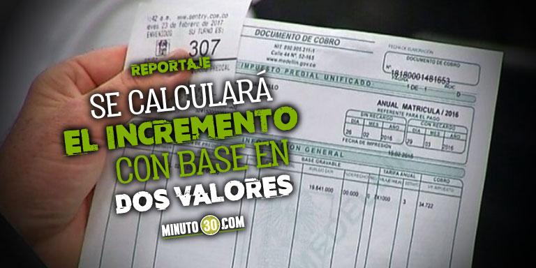 Le ponen tope al predial En Medellin cambia el modelo catastral que regulara el incremento en el impuesto