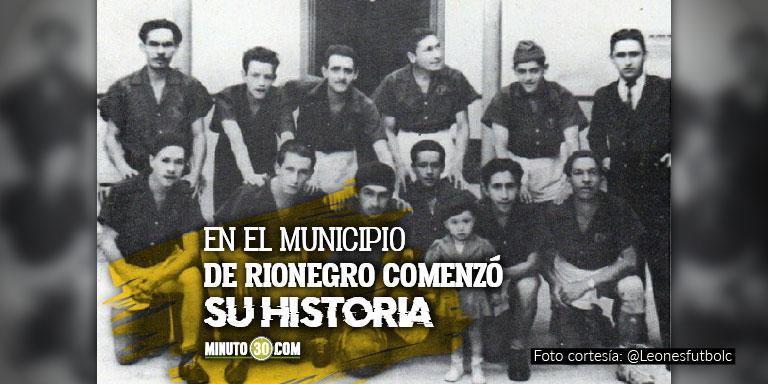 Leones FC esta de aniversario cumple 77 anos